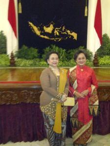 Megawati Sukarnoputri dan Meutia Hatta